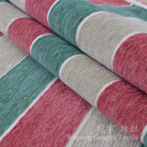 Yarn Dyed Sofa Fabric Polyester and Acrylic Chenille pictures & photos