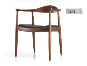 Solid Wood Ash Wood Dining Chairs Computer Chairs Leather Chairs (M-X2017) pictures & photos