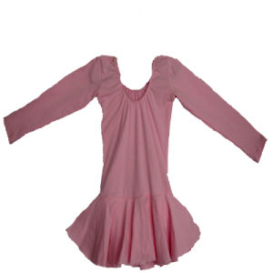 Shinning Dotted Child Fashion Ballet Dancewear Basic Style Leotard (KD-021)