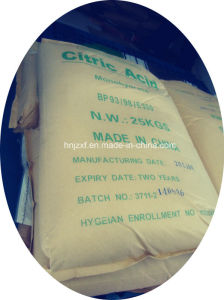 Citric Acid Monohydrate Bp/USP/FCC/E330 pictures & photos