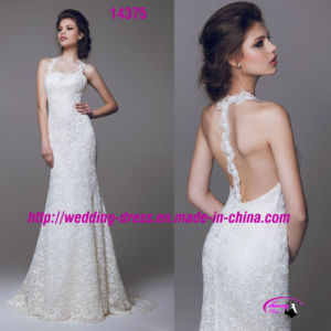 Exquisite Captivating Dress Wedding with Spaghetti Strap pictures & photos