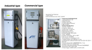 Small Type Series Fuel Dispenser Lf50e pictures & photos