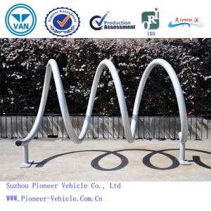 Hot-Galvanized Wave Bike Rack Bike Stand (Pvs05) pictures & photos