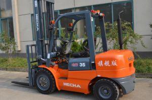 Hecha Forklift 3.5 Ton Diesel Forklift Cpcd35 with Isuzu Engine pictures & photos