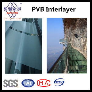 1.52mm Transparent Clear Laminated Glass PVB Interlayer pictures & photos