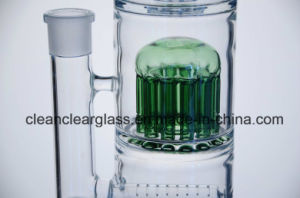 Wholesale Self-Branded Glass Water Pipe Smoking Pipe with 12-Arm Perc and Showerhead Perc pictures & photos