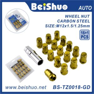 High Quality Heptagon Wheel Lock Wheel Nut Bolt pictures & photos