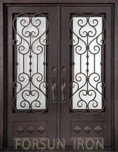 Wrought Iron Doors Artistic Design pictures & photos