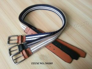 2017 New Polyester Mens′ Belt pictures & photos