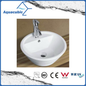Ceramic Cabinet Art Basin and Vanity Top Hand Washing Sink (ACB8244) pictures & photos