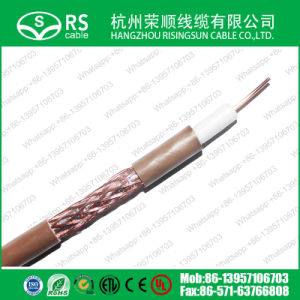 RG6 Satellite Freesat Digital TV Aerial Brown Coaxial Cable pictures & photos