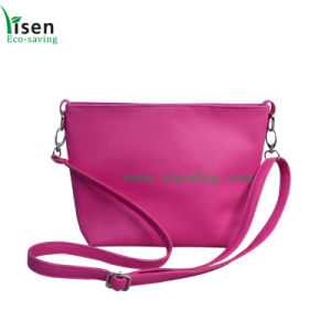 PU Ladies Shoulder Bag (YSLB02BR-001) pictures & photos