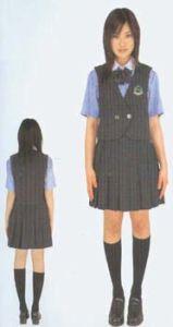 2014 School Girl Student Uniform for High School pictures & photos
