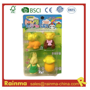 3D Animal Eraser for Kids Gift pictures & photos