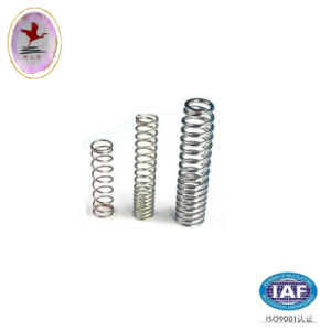 Small Nickel Plated Coil Compression Spring
