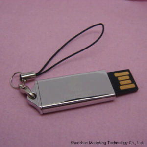 CE Metal Business Push and Pull USB Flash Drive USB Flash pictures & photos