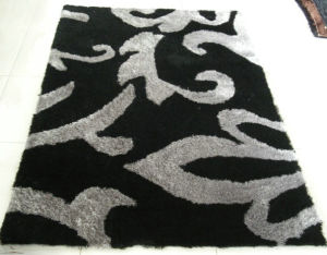 Modern Design Long Pile Shaggy Polyester Silk Floor Carpet pictures & photos