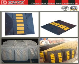 Wholesale Car Speed Safety Reducing Industrial Rubber Hump (CC-B08) pictures & photos