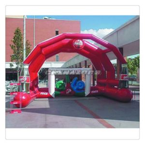 New Design Inflatable Football Ground with Customized Logo