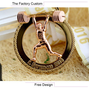 Games Weight Lifting Medals Customized pictures & photos