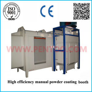 High Performance Powder Coating Booth with Recovery System pictures & photos