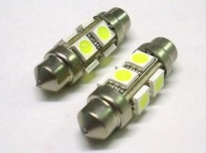 36mm 8 SMD 5050 12V Warm White LED Car Light pictures & photos