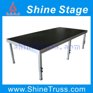 Wholesale Aluminum Portable Stage with Adjustabel Legs (YN-ST001) pictures & photos