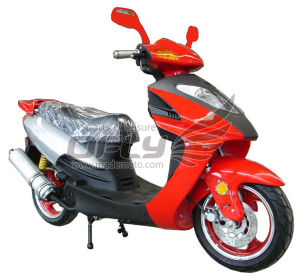 New Gas Motor Scooter (YY50QT-12A(2T)) pictures & photos