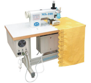Ultrasonic Lace Sewing Machine for Dress Ribbon (with CE) pictures & photos