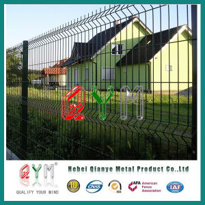 Welded Mesh Fence//Hot-DIP Galvanized 3D Garden Fence Panels pictures & photos