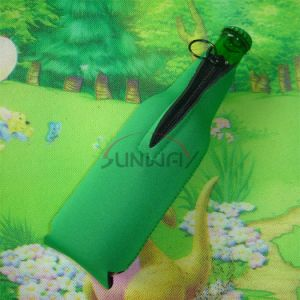 Flat Pack Beverage Beer Neoprene Bottle Suit Sleeve (BC0012) pictures & photos