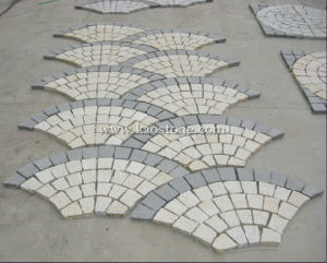 Outdoor Meshed Granite Paving Stone pictures & photos