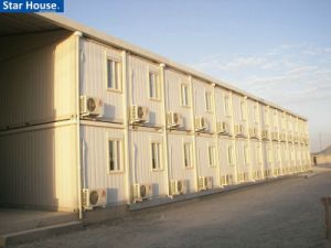 Portable Housing Unit for Labour Camp/Hotel/Office/Dormitory pictures & photos