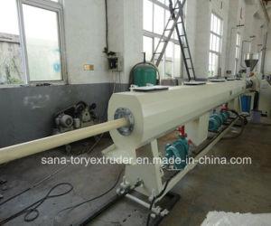 75-160mm Plastic PVC Pipe Extrudering Machine pictures & photos