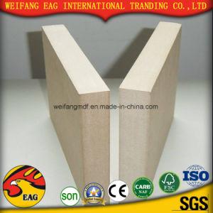 Melamine MDF Board/18mm Color Blue/Wood Grain etc Density: 720kgs/Cbm pictures & photos