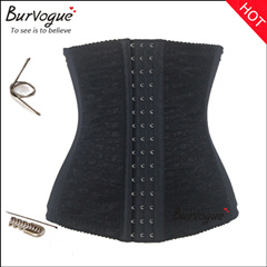 Flora Lace Plus Sizes Waist Training Underbust Corset
