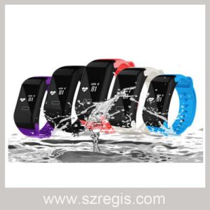 Waterproof Heart Rate Smart Bluetooth V4.0 Watch Bracelet pictures & photos