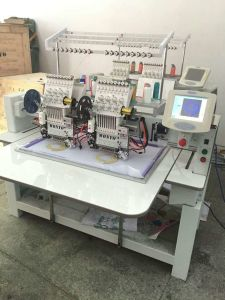 Embroidery Machine 902 Computerized Flat Embroidery Machine pictures & photos