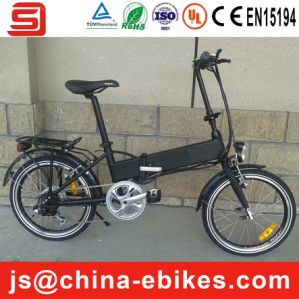 Hidden Battery Electric Folding Bike (JSE30)