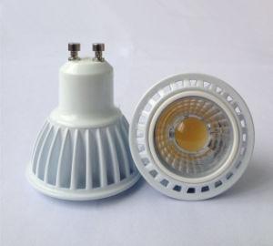 New White Aluminum 5W GU10 COB LED Bulb Light Lamp pictures & photos