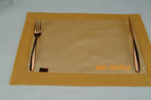 100% Polyester Table Mat (DPR6110) pictures & photos