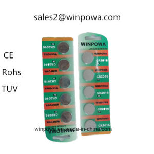 Cr2032 Lithium Battery for Wind Speed Anemometer pictures & photos