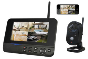 Wireless Digital Camera with Phone or Tablet PC Remote Surveillance