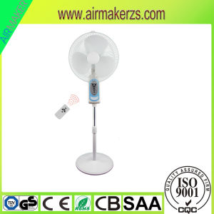 16′′ DC Solar 12V Battery Operated Rechargeable Solar Power Pedestal Fan pictures & photos