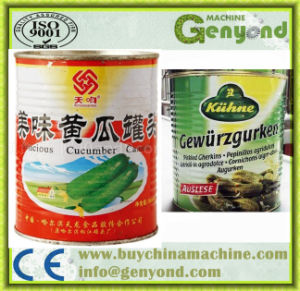 Top Quality Sweet Pickled Cucumber Production Line pictures & photos