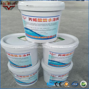 High Elastic Thick Acrylic Waterproof Coating, Acrylic Waterproofing Paint pictures & photos