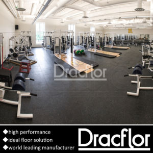 Durable EPDM Rubber Roll Mat Gym Rubber Flooring (S-9001) pictures & photos