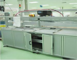 Gst-Djj-01 Automatic Solar Module Aluminium Frame Gluing Machine