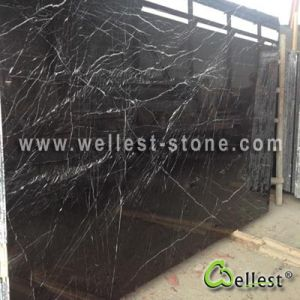 Black Marquina Tile Marble Floor Tile Marble Flooring pictures & photos