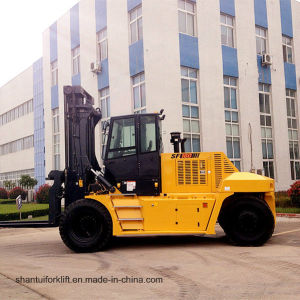 Cheap 16 Ton Diesel Forklift with Weichai Engine pictures & photos